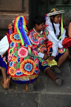 festival during travel to cuzco